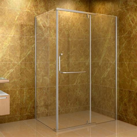48 Inch Corner Shower Stalls by Aston Clear 48 X 35 Inch 10mm Glass Shower Enclosure