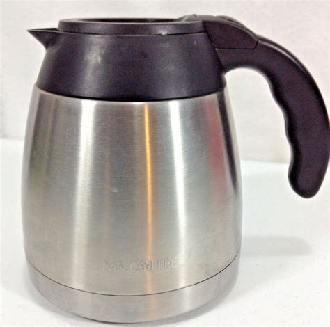Replacement parts for moccamaster kbgt 32 oz coffee makers including polished silver 79212 and stone grey 79215. Mr Coffee Thermal Carafe Stainless Replacement 10 cup BVMC-PSTX91 95 Optimal #MrCoffee | Coffee ...