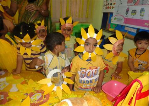 yellow day celebration in preschool welcome to buds n blooms 289