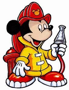 Funny Firefighter Cartoon
