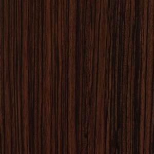 High Gloss Dark Zebrawood Cabinet Doors