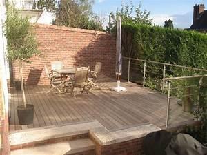 terrasse bois nature With nice modele de terrasse en bois exterieur 1 amenagement terrasse bois exterieur images