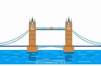 Thames River Clipart London Bridge England Westminster