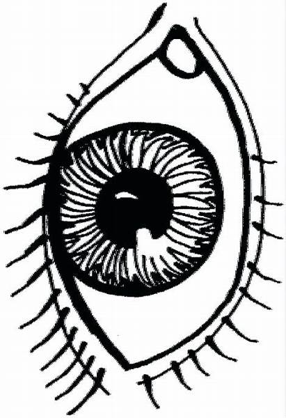 Eyes Crying Drawing Coloring Pages Sad Getdrawings