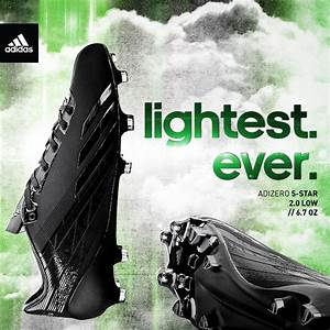 adidas Launches adizero 5-Star 2.0, The Lightest Cleat In ...
