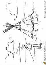 Maison Coloriage Monde Dessin Tipi Tente Entier Pays Indienne Hugolescargot Colorier Indien Coloriages Dessins Maternelle Theme Enfant Kinder Indianer Yourte sketch template