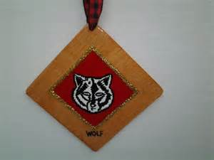 cub scout christmas ornaments personalized with name by tamcoarts