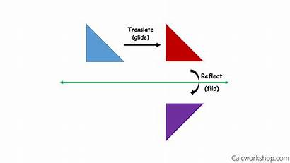 Reflection Glide Examples Rules Step Transformations