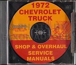 1972 Chevrolet Pickup  Blazer  Suburban Wiring Diagram