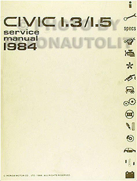 Honda Civic Electrical Troubleshooting Manual Original