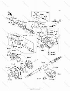 Kawasaki Atv 2000 Oem Parts Diagram For Drive Shaft