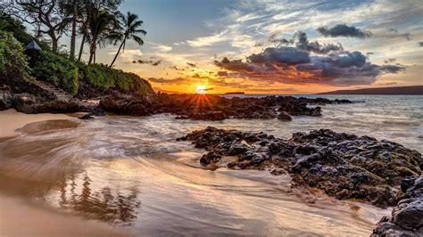 landscape beach coast wallpapers hd desktop  mobile backgrounds
