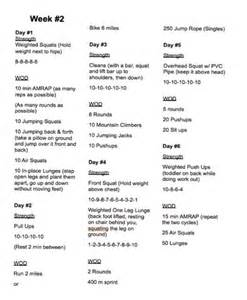 Free Printable CrossFit Workouts
