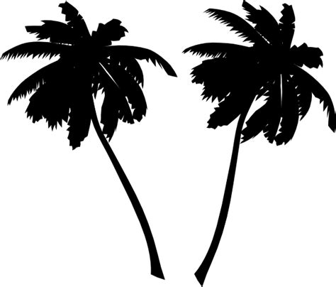 pictures of small palm trees vector palm trees clip at clker com vector clip
