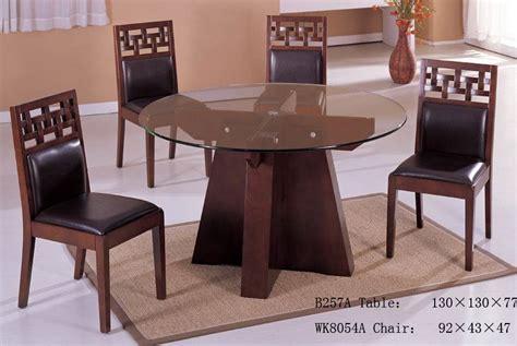 round glass breakfast table set china round glass dining table set china dining room
