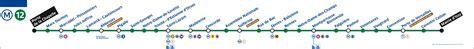 metro de metro ligne 12