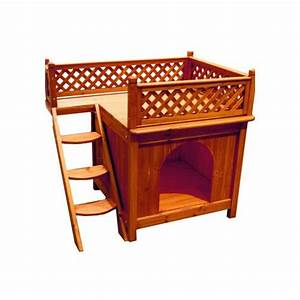 Merry products wood pet home room with a view petco for Dog litter box petco