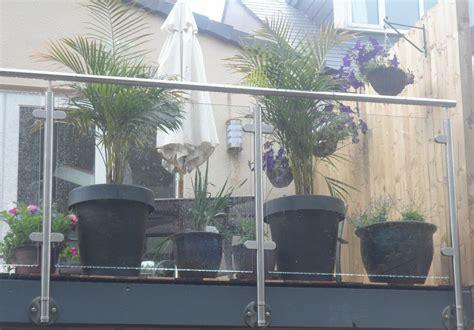 Stainless Steel Glass Balustrade Handrail / Balcony