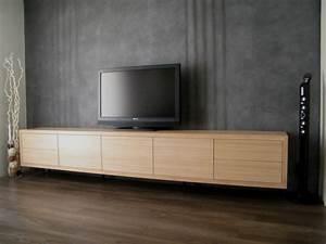 Meuble Tv Bois Massif Moderne : meuble tele contemporain design meuble tv maison boncolac ~ Teatrodelosmanantiales.com Idées de Décoration