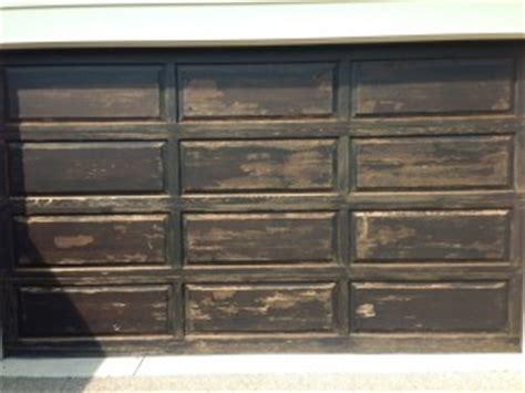 cost  refinishing  wood front door  garage door