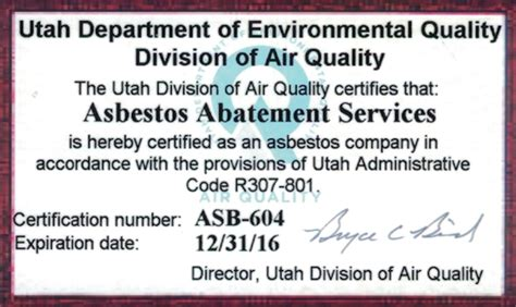 salt lake city asbestos removal asbestos abatement