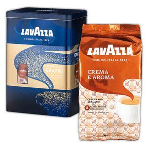 lavazza crema e aroma angebot espresso angebote norma