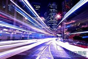 城市街景夜晚高清图片下载-非凡图库