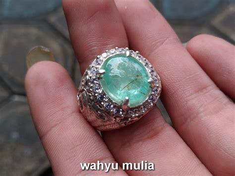 batu permata zamrud emerald beryl colombia asli kode 729 wahyu mulia