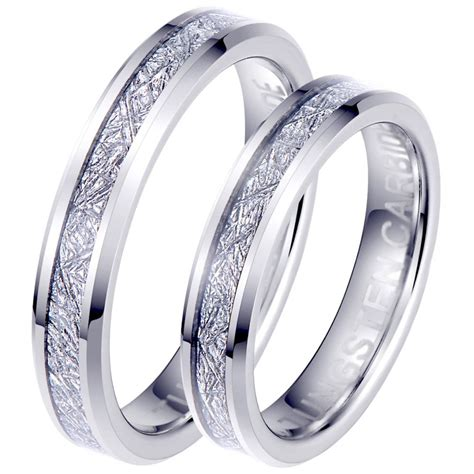 Asteri His And Hers Matching Wedding Couple Ring Set