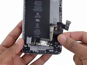 Iphone 6s Plus Lightning Connector And Headphone Jack
