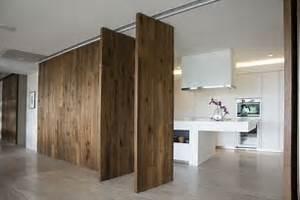 Pareti divisorie in legno porte per interni come
