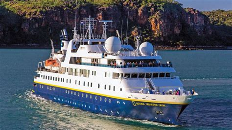 National Geographic Cruise Ship Gets A Lift Home