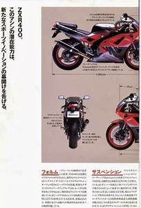 Planet Japan Blog  Vintage Japan Brochures  Kawasaki Zxr
