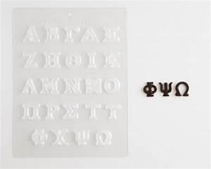 greek alphabet chocolate mold cakegirls With greek letter chocolate molds