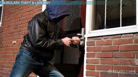 property crime definition types statistics video