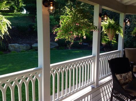 Porch Handrails by Handrails For Pvc Railing Panels The Porch Company