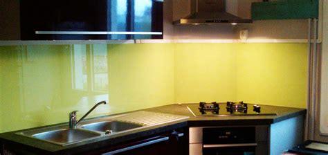 cuisine verre crédence en verre personnalisée pour cuisine righetti