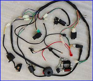 50  70  90  110cc  125cc Wire Harness Wiring Cdi Assembly Atv Quad Coolster