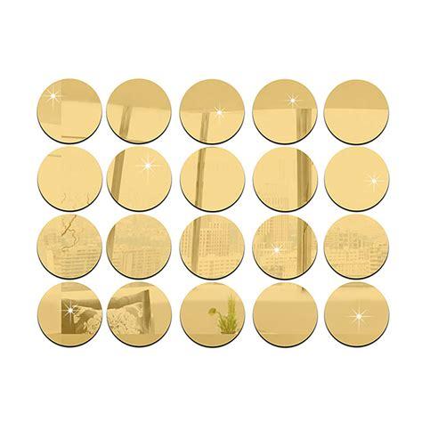 kleine runde spiegel 50pcs acryl kleine runde spiegel wandaufkleber wohnzimmer schlafzimmer dekor ebay