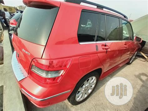 For the fact you cant acquire a foreign used or tokunbo as its usually called does not mean you cant own a luxury. Mercedes-Benz GLK-Class 2010 350 4MATIC Red in Apapa - Cars, Country Motors | Jiji.ng for sale ...