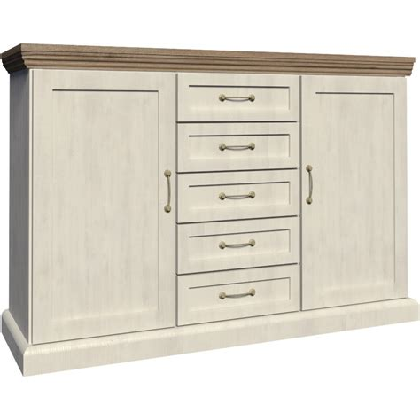 Ash Sideboard by Devonshire White Ash And Oak 2 Door 5 Drawer Sideboard Ebay