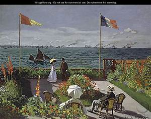 Garden at Sainte Adresse 1867 - Rosa Bonheur - WikiGallery ...