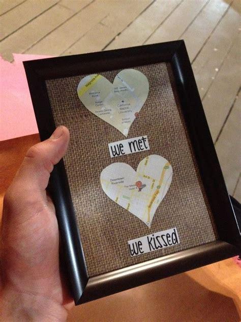 met  kissed romantic gift idea diy valentines