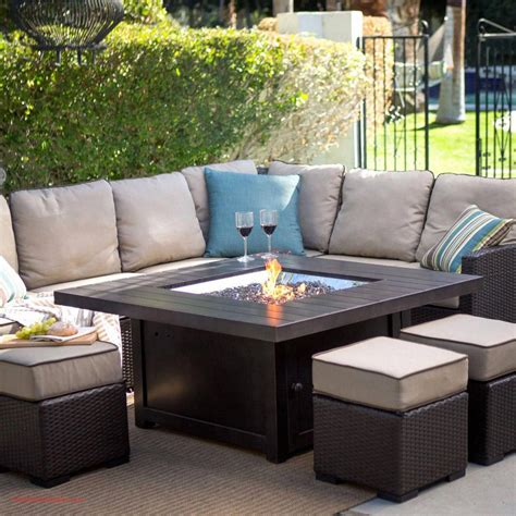 An outdoor coffee table with a little extra underneath. hey everyone! 70 Luxury Outdoor Coffee Table Fire Pit 2020 in 2020   Outdoor coffee tables, Diy outdoor ...