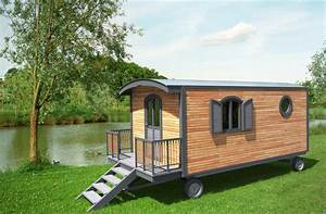 Abris De Jardin Auvergne : roulottes en bois hotel avec sanitaire ~ Premium-room.com Idées de Décoration