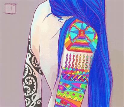 Trippy Psychedelic Tattoo Tattoos Lsd Gifs Acid