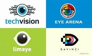 40 Creative Eye Logo Design Ideas and Design inspiration