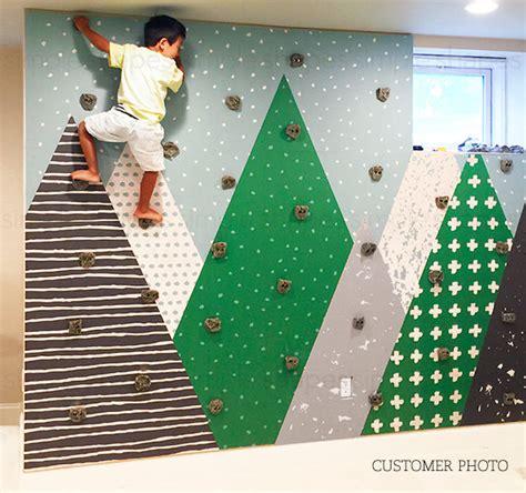 kids mountains green mountains extra large wall art peel