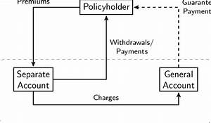 Cash Flows Of A Typical Variable Annuity Contract