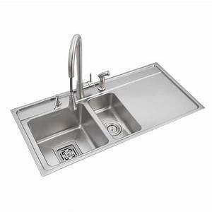 Buy Anupam Stainless Steel Double Bowl Sink With ...